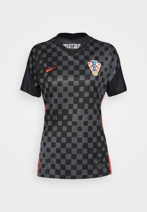 KROATIEN - National team wear - anthracite/black/university red
