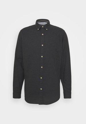 SLHSLIM SHIRT - Camicia - black melange