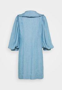 JUST FEMALE - TEXAS DRESS - Shirt dress - light blue - 7