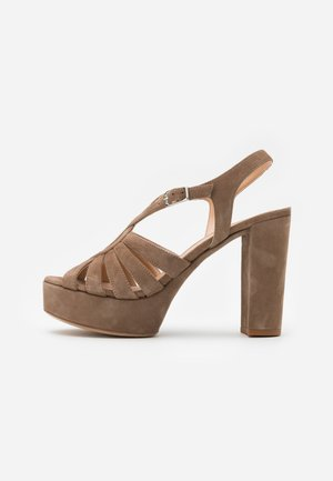 VABEL  - High heeled sandals - taupe