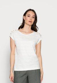 Esprit - TEE - Jednoduché triko - off white - 0