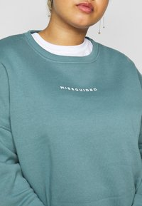 Missguided Plus - BASIC - Sweatshirt - blue - 5