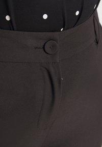 Evans - SHORT WORKWEAR TROUSER - Trousers - black - 4