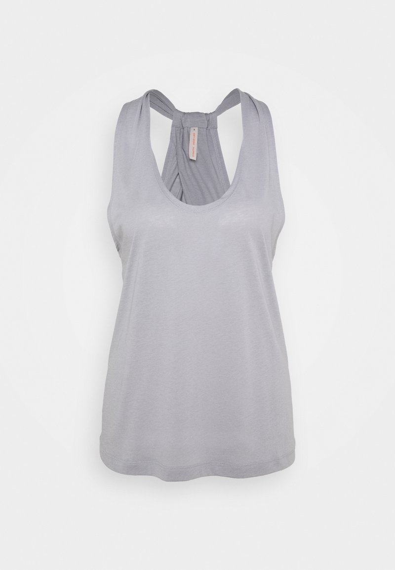 Filippa K - TWIST LAYER TANK - Top - silver grey