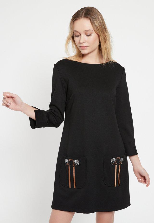 BAZNA - Etui-jurk - schwarz
