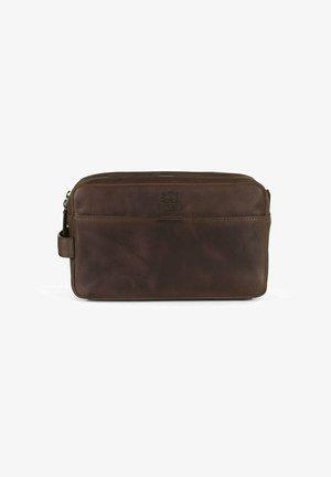 HAYDEN - Kosmetická taška - dark brown