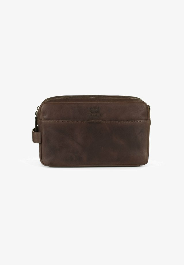 HAYDEN - Trousse - dark brown