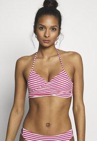 ONLY - ONLJULIE BRAZILIAN SET - Bikini - mars red/bright white - 3