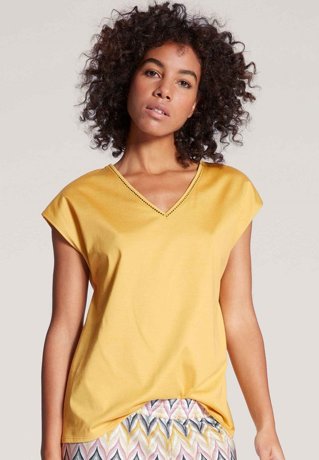 Basic T-shirt - sauterne yellow