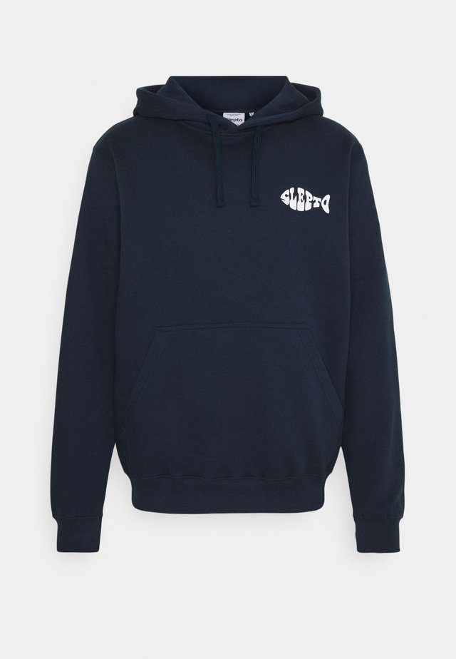PLATE OF FISH - Hoodie - dark navy