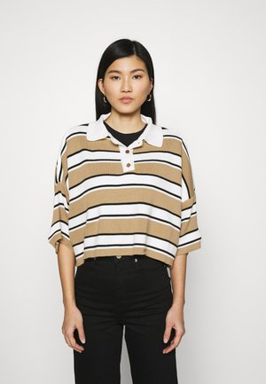 CAMEL - Long sleeved top - camel