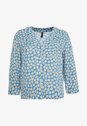 YASDAISY 3/4 TOP - Blouse - light blue