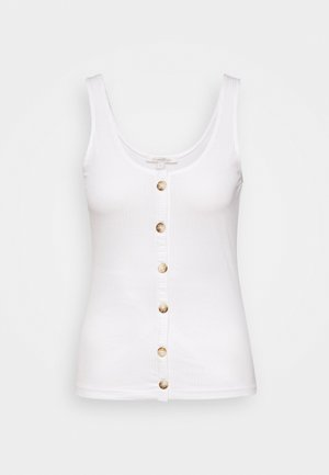 WITH PLACKET - Top - off white