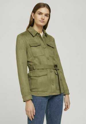 Summer jacket - dark olive