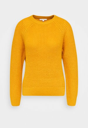 HALFCARDIGAN - Jumper - indian spice yellow