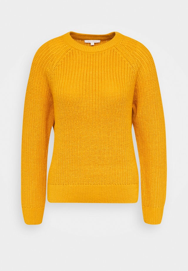 HALFCARDIGAN - Pullover - indian spice yellow