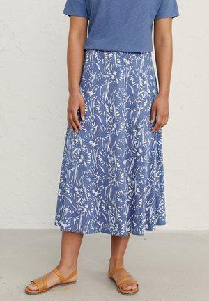 ORCHARD - A-line skirt - blue