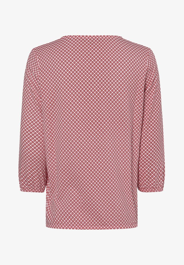 Long sleeved top - rosa rot