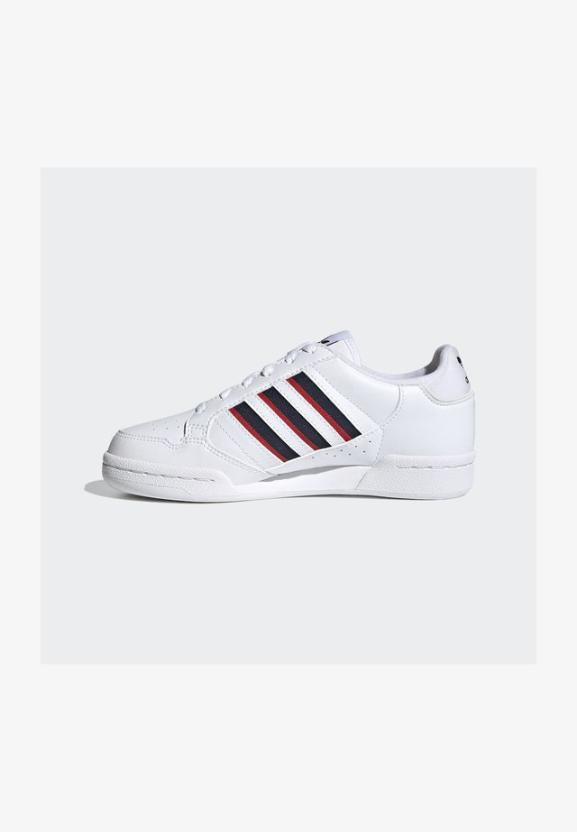 CONTINENTAL 80 3 STRIPES SHOES - Trainers - ftwr white/collegiate navy/vivid red