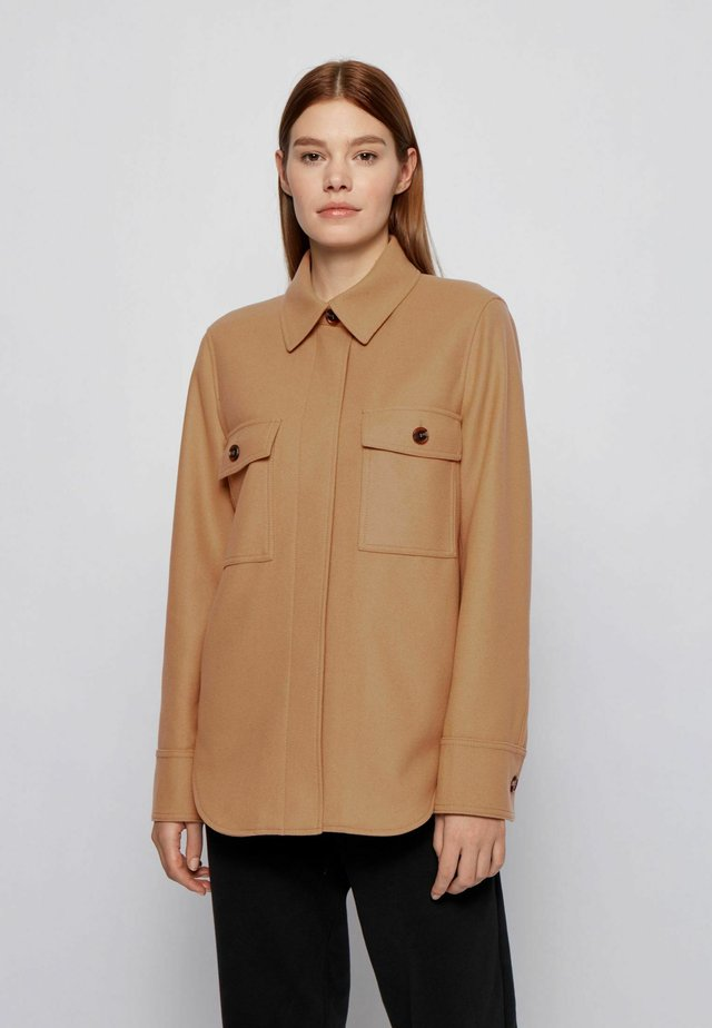JOHOXTON - Short coat - light brown