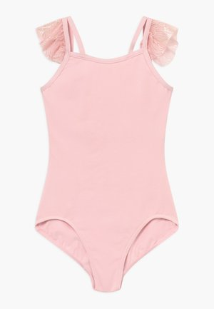 GIRLS' BALLET FLUTTER SLEEVE - Danspakje - pink