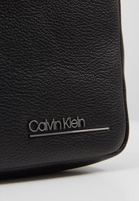 Calvin Klein - MINI REPORTER - Across body bag - black - 2