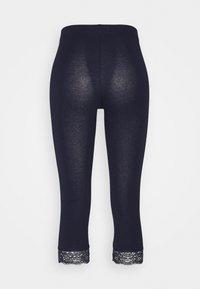 Anna Field Tall - 2 PACK - Leggings - Trousers - black/dark blue - 1
