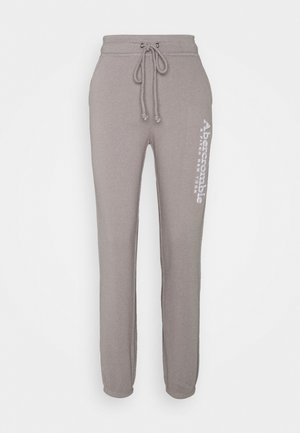 FALL TREND LOGO JOGGER - Tracksuit bottoms - grey