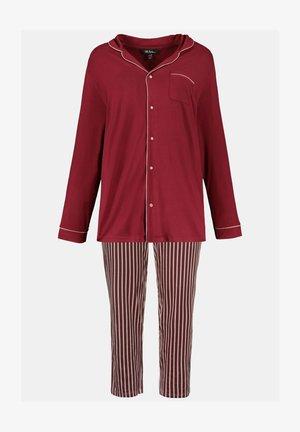Pyjama set - bordeauxrot