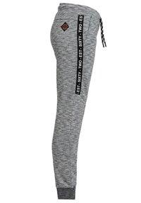 WE Fashion - JONGENS MET TAPEDETAIL - Tracksuit bottoms - blended light grey - 3