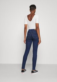 Lee - SCARLETT HIGH - Jeans Skinny Fit - dark blue denim - 2