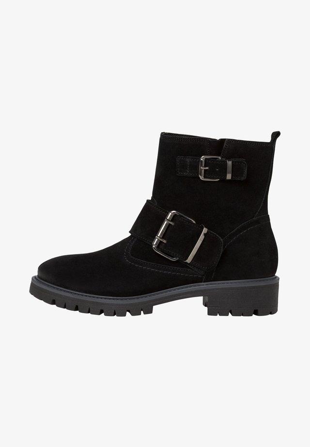 Boots à talons - black uni