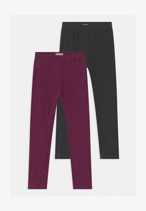 2 PACK - Leggings - Trousers - ebony