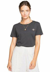 Billabong - Print T-shirt - off black - 2