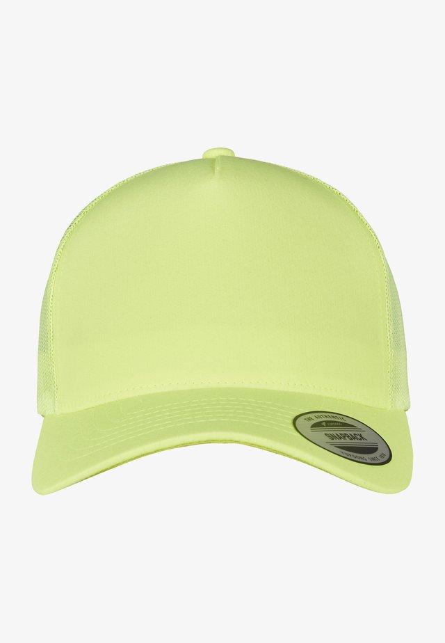 NEON RETRO - Cap - neonyellow