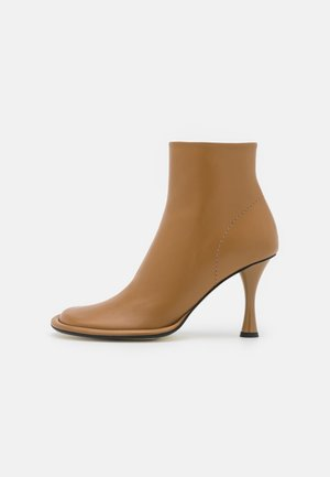 PIPE BOOTS - Classic ankle boots - khaki