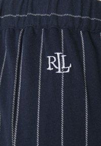Lauren Ralph Lauren - SEPARATE LONG PANTS - Pyjama bottoms - navy - 2