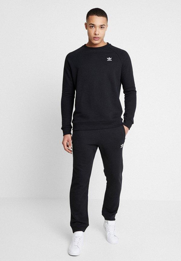 adidas Originals TREFOIL PANT UNISEX - Spodnie treningowe - black/czarny Odzież Męska EGFV