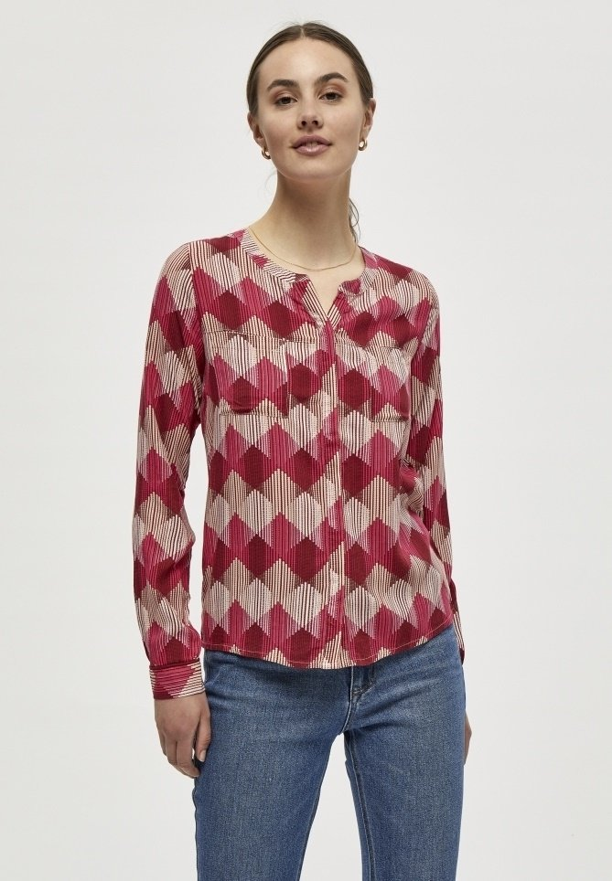 PEPPERCORN - Blouse - maroon red