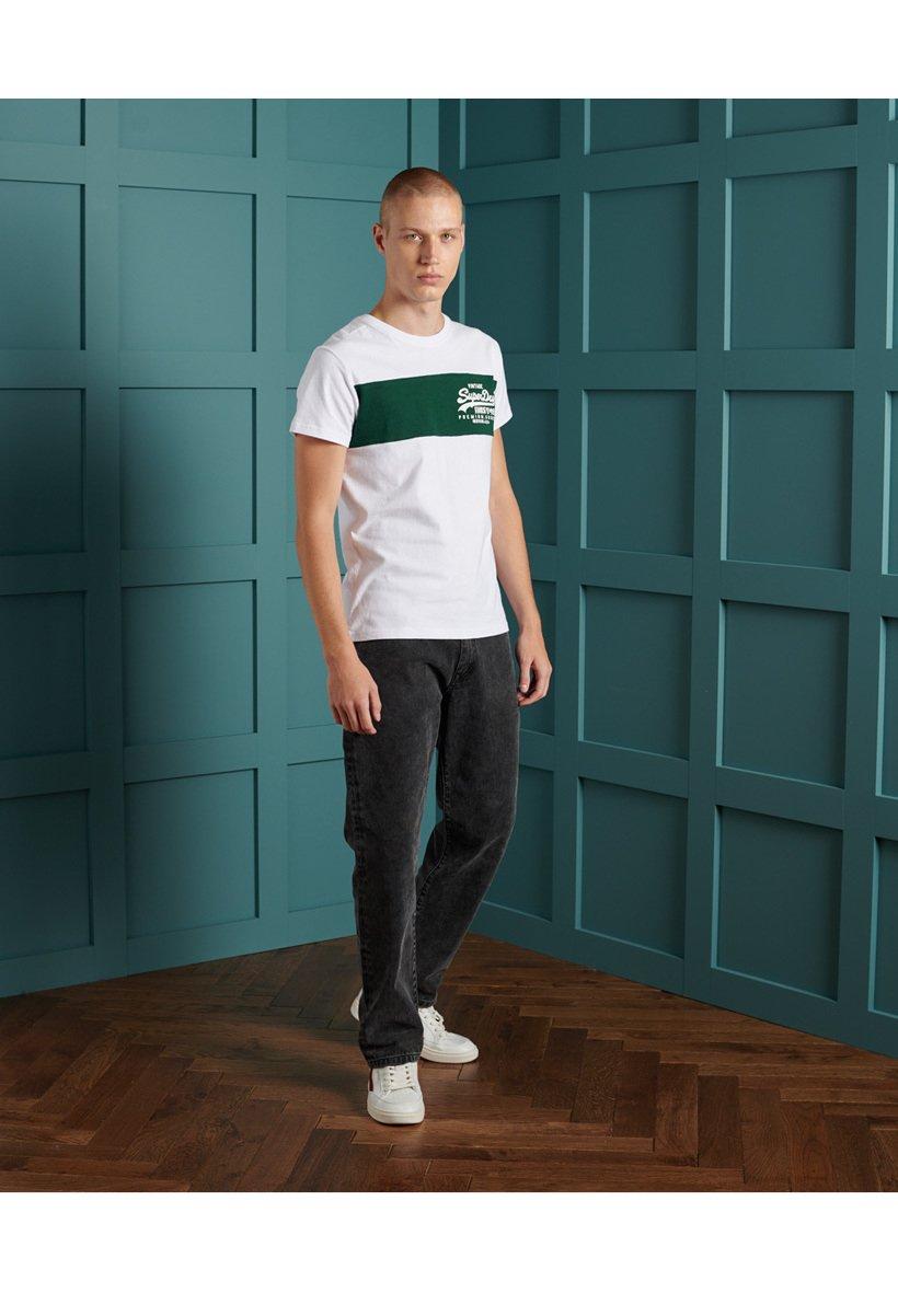 Men VINTAGE  - Print T-shirt