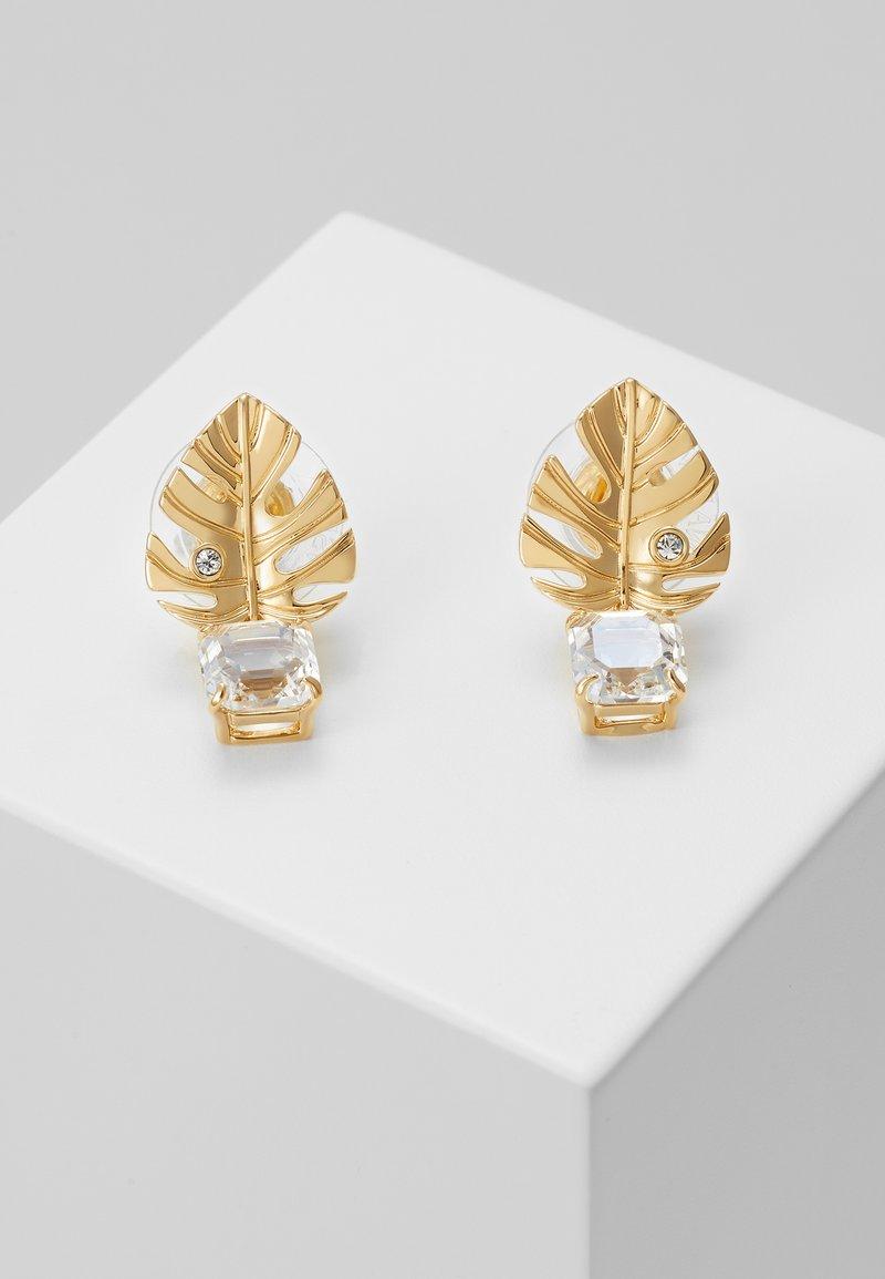 Swarovski - TROPICAL - Earrings - gold-coloured