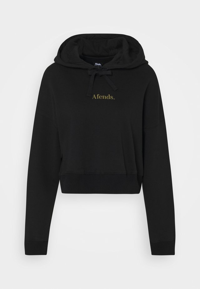 OVER AND OUT - Hoodie - black