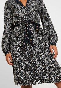 Vero Moda - VMVIVI KNEE DRESS - Day dress - black - 4