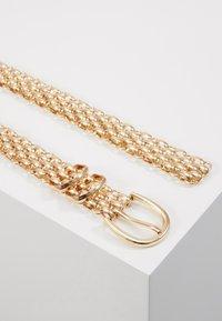 Gina Tricot - LINDA CHAIN BELT - Belte - gold-coloured - 2