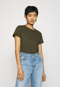 Tommy Hilfiger - T-shirt basic - army green - 0
