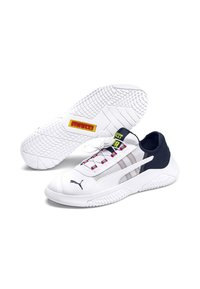 Puma - Trainers - white-peacoat-limepunch - 3