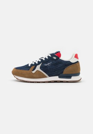 BRITT MAN - Sneakers laag - dark denim