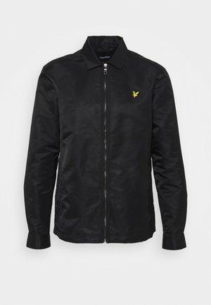 LIGHTWEIGHT JACKET - Summer jacket - jet black