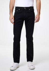 Pierre Cardin - PIERRE CARDIN MODERN FIT JEANS VOYAGE LYON - Straight leg jeans - black - 0