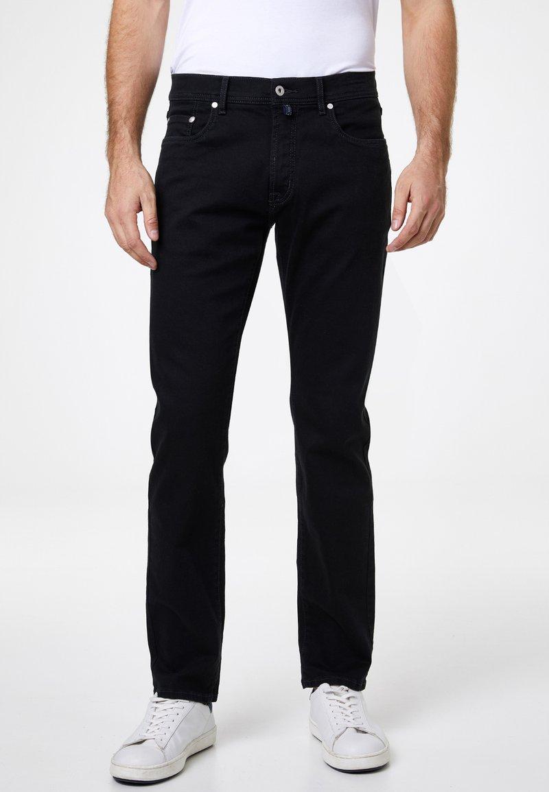 Pierre Cardin - PIERRE CARDIN MODERN FIT JEANS VOYAGE LYON - Straight leg jeans - black